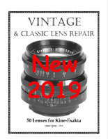 Vintage & Classic Lens Repair - 50 Lenses for Kine-Exakta