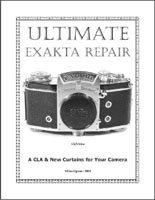 Ultimate Exakta Repair - the Book!